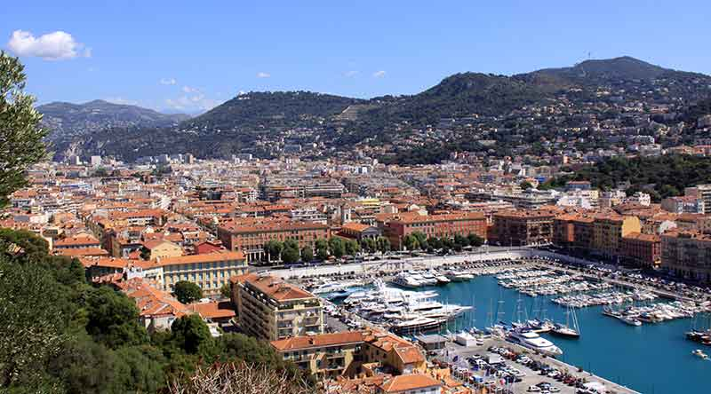 Admire the coastal views along the Italian Riviera into France, through the Cote d'Azur to Montecarlo and Nice