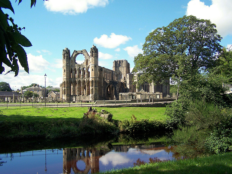 Elgin Cathedral - one of Scotland's most beautiful medieval buildings